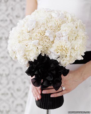 Mono Carnation Bouquet