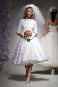 Wedding dress by Candy Anthony