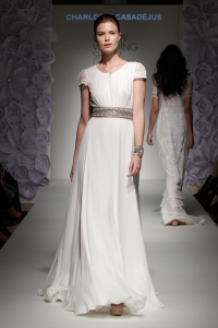Bridal dress by Charlotte Casadejus