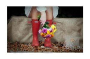 Hunter wellies for a cheap and chic bridesmaid