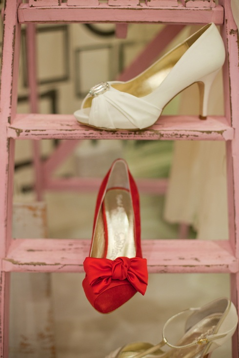 froufrou wedding shoes