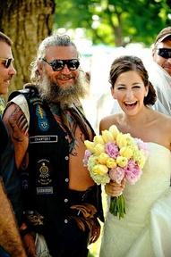 Biker and Bride