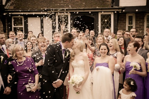 kent country wedding scene